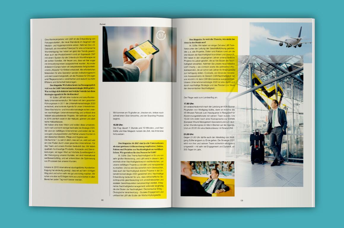 Lohmann & Rauscher – Imagemagazin